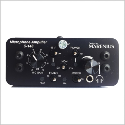 Vr Headset Comparison >> Marenius C-148 Battery Powered Microphone Amplifier With ...